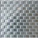 """Tôle inox sur mesure à reliefs """"Squares"""", épaisseur 1mm"""